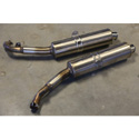 00-01 Honda RC-51 OEM Slip-On Exhaust