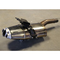 06-12 Triumph 675 OEM Slip-On Exhaust