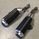 07-08 Suzuki GSXR 1000 OEM Dual Slip-On Exhaust