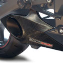 11-15 Kawasaki ZX-10R Taylormade Carbon Trim Slip-On Exhaust Kit