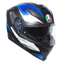 AGV K5 S Full Face Motorcycle Helmet Marble Black/White/Blue