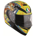 AGV K-3 SV Full Face Motorcycle Helmet Bulega Size Medium Large