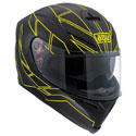 AGV K5 S Full Face Motorcycle Helmet Herro Black/Fluo Yellow