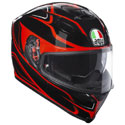 AGV K5 S Full Face Motorcycle Helmet Magnitude Black/Red