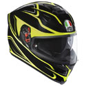 AGV K5 S Full Face Motorcycle Helmet Magnitude Black/Yellow