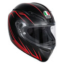 AGV Veloce S Full Face Helmet Predatore Matte Black/Red