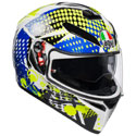AGV K-3 SV Full Face Motorcycle Helmet Pop