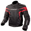 AGV Sport Laguna Vented Textile Motorcycle Jacket Black/Red