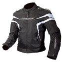 AGV Sport Laguna Vented Textile Motorcycle Jacket Black/White