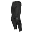 AGV Sport Willow Perforated Leather Motorcycle Riding Pants Blk