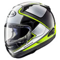 Arai Quantum-X Full Face Motorcycle Helmet Box Yellow