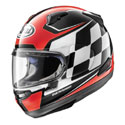 Arai Signet-X Full Face Motorcycle Helmet Finish Red