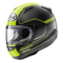 Arai Signet-X Full Face Motorcycle Helmet Focus Yellow Frost