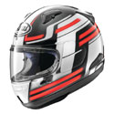 Arai Quantum-X Full Face Motorcycle Helmet Competition Red