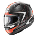 Arai Quantum-X Full Face Motorcycle Helmet Sting Frost Red