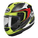 Arai Corsair-X Full Face Helmet Bracket Fluorescent Yellow