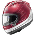 Arai Corsair X Full Face Motorcycle Helmet CB Red/Silver