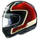 Arai Defiant-X Full Face Motorcycle Helmet Outline Red