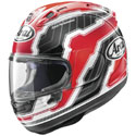 Arai Corsair X Full Face Motorcycle Helmet Mamola Egde Red
