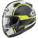 Arai Quantum-X Full Face Motorcycle Helmet Takeoff Frost Yellow