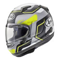Arai Signet-X Full Face Motorcycle Helmet Sense Frost Yellow