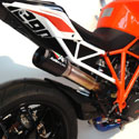 KTM Superduke 1290 Austin Racing GP1 Hi Slip-On DeCat Exhaust