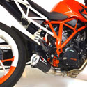 KTM Superduke 1290 Austin Racing GP3 Belly Exit DeCat Exhaust