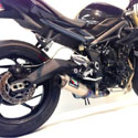 13-16 Street Triple 675 Austin Racing GP3 Slip-On Exhaust