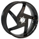 "BST 5.75"" x 17"" Carbon Fiber Wheel 08-09 Hypermotard 1100S"