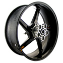 "BST 17"" x 6.0"" Carbon Fiber Wheel for BMW 10-14 S1000RR/S1000R"