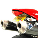 08-12 Ducati Monster 696 Competition Werkes Fender Eliminator