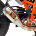 13-18 KTM 690 Duke Competition Werkes GP Full Exhaust System