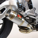 08-16 Honda CBR 1000RR Competition Werkes GP Slip-On Exhaust