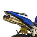 07-12 Honda CBR 600RR Competition Werkes GP Dual Slip-On Exhaust