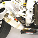 10-14 Aprilia RSV4 Competition Werkes GP Slip-On Exhaust System