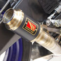 17-19 Yamaha YZF R6 Competition Werkes GP Race Slip-On Exhaust
