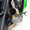 13-18 Kawasaki ZX6R Competition Werkes Race GP Slip-On Exhaust