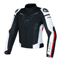 Dainese Super Speed Textile Motorcycle Jacket Black/White/Red