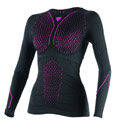 Dainese D-Core Thermo LS Lady Shirt Black/Fuchsia
