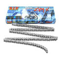 DID 530 ZVMX X-Ring Street/Race Chain 120 Links Natural Steel