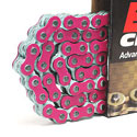 EK 530 MVXZ2 Series Supersport Chain - 120 links - Pink