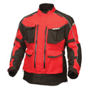 Fly Street Terra Trek 4 Textile Motorcycle Jacket Red/Black