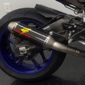 15-17 Yamaha R1 Graves Titanium Full System w/265mm Carbon Can