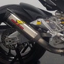 16-17 Aprilia RSV4RR/RF Graves Cat Eliminator Exhaust Titanium