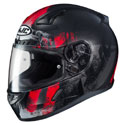 HJC CL-17 Full Face Motorcycle Helmet Arica MC-1SF Black/Red