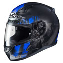 HJC CL-17 Full Face Motorcycle Helmet Arica MC-2SF Black/Blue