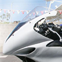 2004-06 Yamaha YZF R1 Hotbodies Racing Windscreen Clear