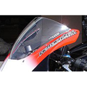 2005-06 Honda CBR600RR Hotbodies Racing Windscreen Clear