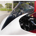 2007-08 Yamaha YZF R1 Hotbodies Racing Windscreen Clear