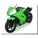 2008-12 Kawasaki 250R Complete Hotbodies Racing Bodywork Kit
